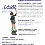 """MOSTRA """"A LEZIONE DI RAZZISMO"""""""