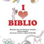I LOVE BIBLIO. EVENTI PER BAMBINI E RAGAZZI 2019/2020