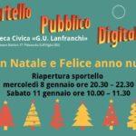 CHIUSURA NATALIZIA SPORTELLO PUBBLICO DIGITALE