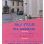 Sala studio weekend