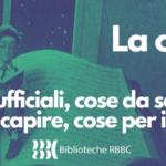 LA CULTURA RESTA, LA RETE BIBLIOTECARIA BRESCIANA C'É