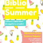 BIBLIO SUMMER 2020: ATTIVITA' PER BAMBINI IN SEZIONE RAGAZZI