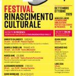 Festival Rinascimento Culturale edizione 2020