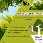 BOSCHI, ALBERI, FOGLIE: LETTURE PER BIMBI 3/6 ANNI