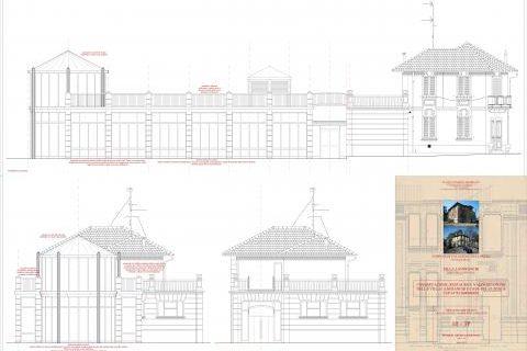 Villa Lanfranchi e Casa del Custode: progetto di riqualificazione