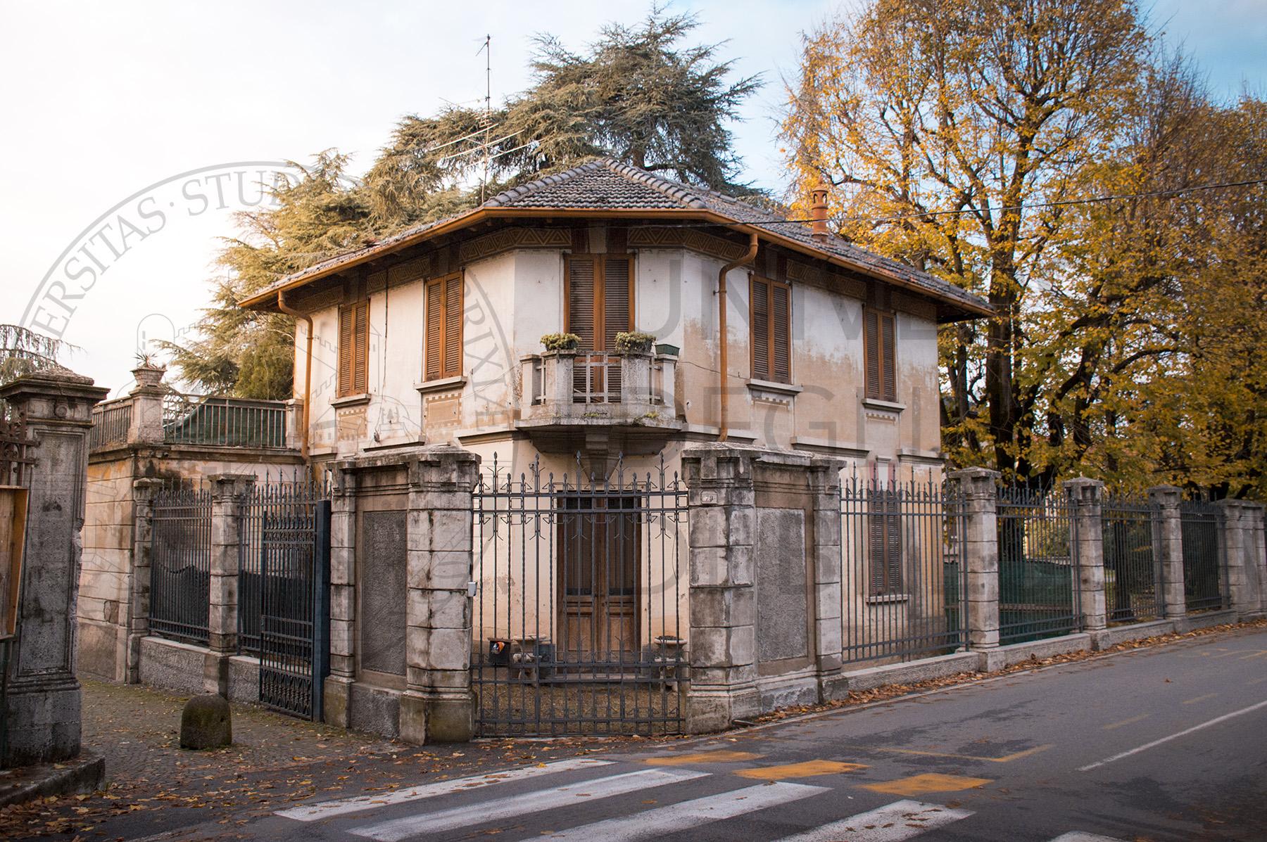 ex casa del custode di villa Lanfranchi