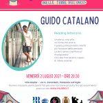 Incontro con GUIDO CATALANO, venerdì 2 luglio alle ore 20.30