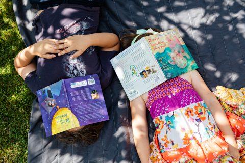 Ripartono a settembre le letture per bambini all'aperto del sabato mattina