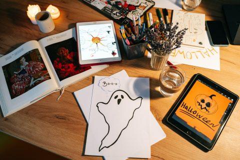 Halloween fantasmagorico! Laboratorio con letture per bimbe e bimbi dai 6 agli 8 anni